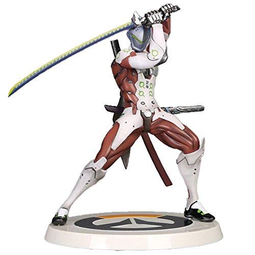 オーバーウォッチ フィギュア ゲンジ 風斬り OverWatch Genji Shimada Deflect Swift Strike Dragon Figure Statue Model 26cm