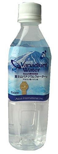アクア インターナショナル富士山バナジウムウォーター ペット 500mlx24本