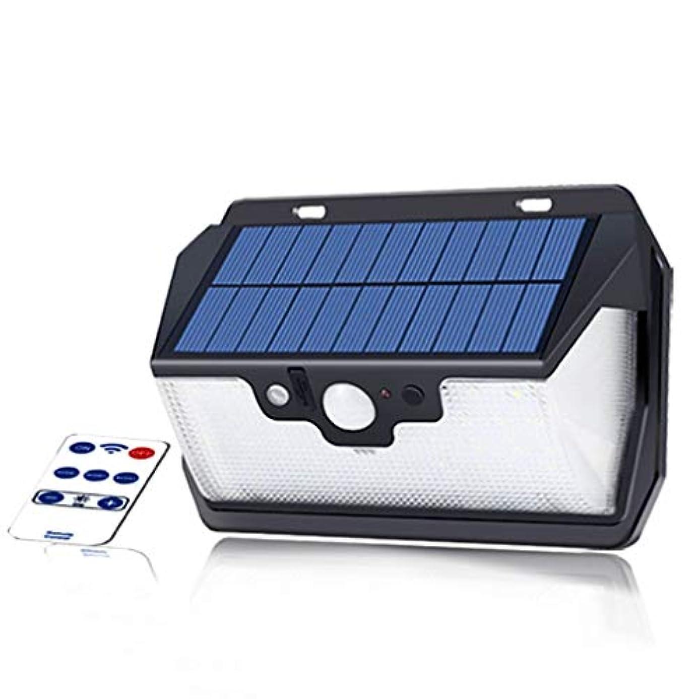 記者ペーススキームソーラーウォールライト、55 LEDソーラーライト屋外USB充電式+ PIRモーションセンサーナイトセキュリティウォールランプ防水省エネヤード