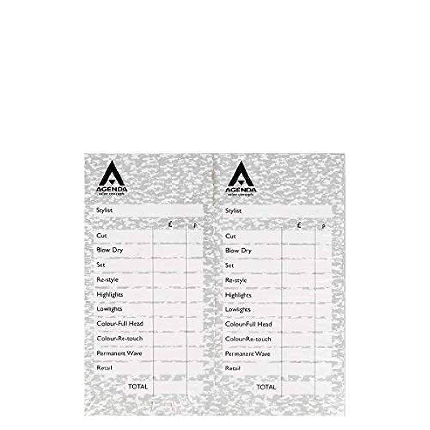 食い違いダッシュ会計アジェンダ サロンコンセプト チェックパッドグレー12x100リーフ[海外直送品] [並行輸入品]
