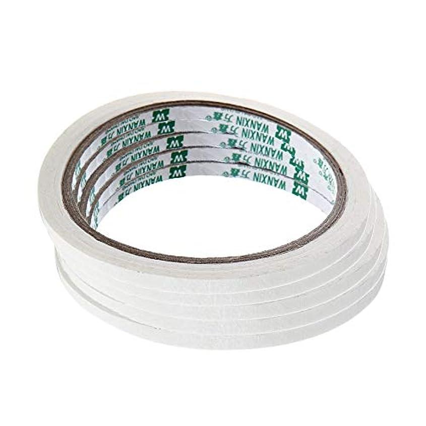 ネイルパーツ クリエイティブ ネイルテープステッカー フレンチ マニキュアネイルアート ヒント マスキングテープ パターン ネイルツール ネイルアート アクセサリー 5ピース ハンドメイド材料