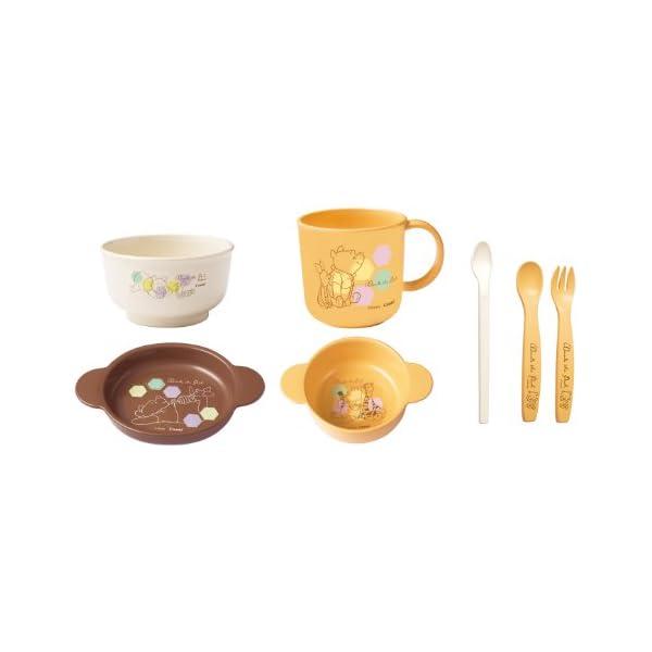 コンビ くまのプーさん スマイル食器セットの商品画像