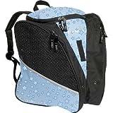 Transpack Ice スケートバッグ Aqua Blue Star