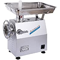Commercial 320 KG/HR Electric Meat Grinder Meat Mincer Stainless Steel NO32 1500W
