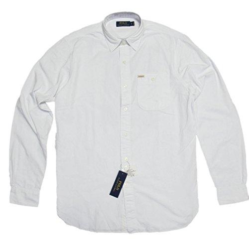 (ポロ ラルフローレン)POLO RALPH LAUREN 長袖シャツ Chambray Workshirt ホワイト White 【並行輸入品】