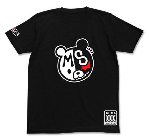ダンガンロンパ1・2 モノクマソフト Tシャツ ブラック サイズ:M