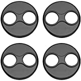 Anbee CNC Aluminum Motor Cap Dust Cover Protector Compatible with DJI Mavic Mini Drone, Pack of 4 (Black)