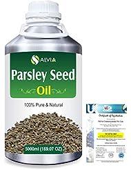 Parsley Seed (Petroselinum Crispum) 100% Pure Natural Essential Oil 5000ml/169 fl.oz.