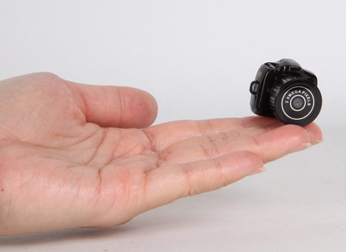 〖Happy Life Co.,ltd〗600万画素 超小型高性能 一眼レフ型カメラ 軽量ミニカメラ DVビデオ 一体型ビデオカメラ 超小型高性能カメラ 【Y2000】 KA8103497265