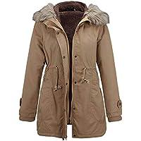 XFentech Womens Winter Coats - Fashion Hooded Warm Winter Parkas Long Coats