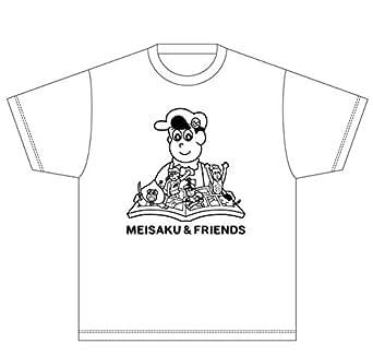 Tシャツ「あはれ!名作くん」30/ホワイト Sサイズ(本デザイン)