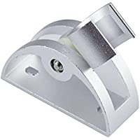 Homyl 6タイプ選べる 壁ブラケットマウント バスルームスプリンクラーベース シャワーヘッドブラケット - 1