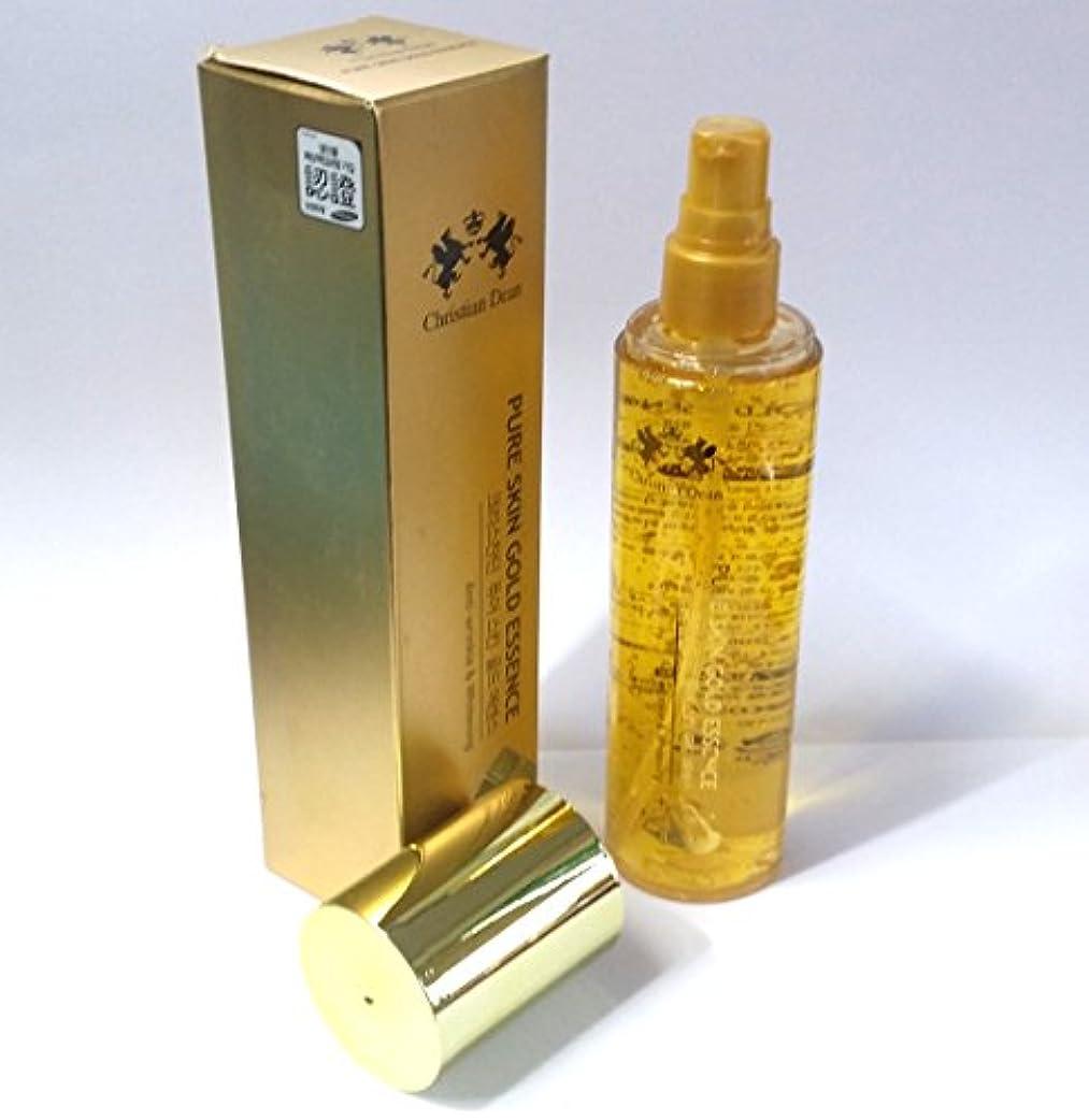 不格好弓撃退する[Christian Dean] ピュアスキンゴールドエッセンス150ml/Pure Skin Gold Essence 150ml/Whitening/ホワイトニング/ピュアゴールドエキス(99.9%)/韓国化粧品/pure...