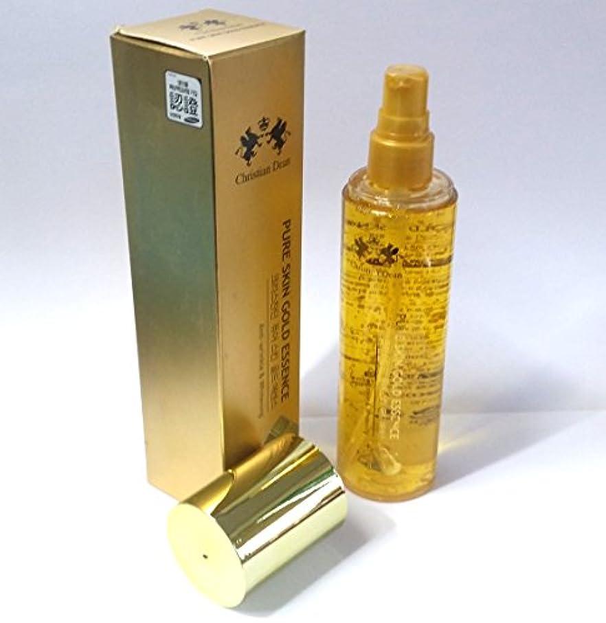 多様性二週間より[Christian Dean] ピュアスキンゴールドエッセンス150ml/Pure Skin Gold Essence 150ml/Whitening/ホワイトニング/ピュアゴールドエキス(99.9%)/韓国化粧品/pure gold extract (99.9%)/Korean cosmetics [並行輸入品]