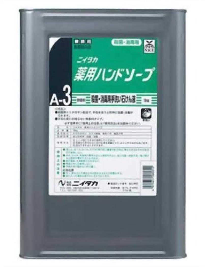 ラップ意志はねかける業務用 ニイタカ 薬用ハンドソープ 18kg