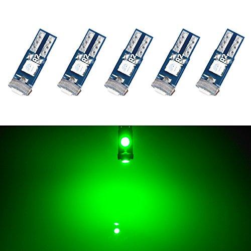 メーター球 T5 LED パネル球 エアコン球 グリーン 緑...