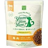 WITH GREEN DOG Yum Yum Yum!(ヤムヤムヤム) 馬肉 やわらかドライタイプ 800g(80g×10)