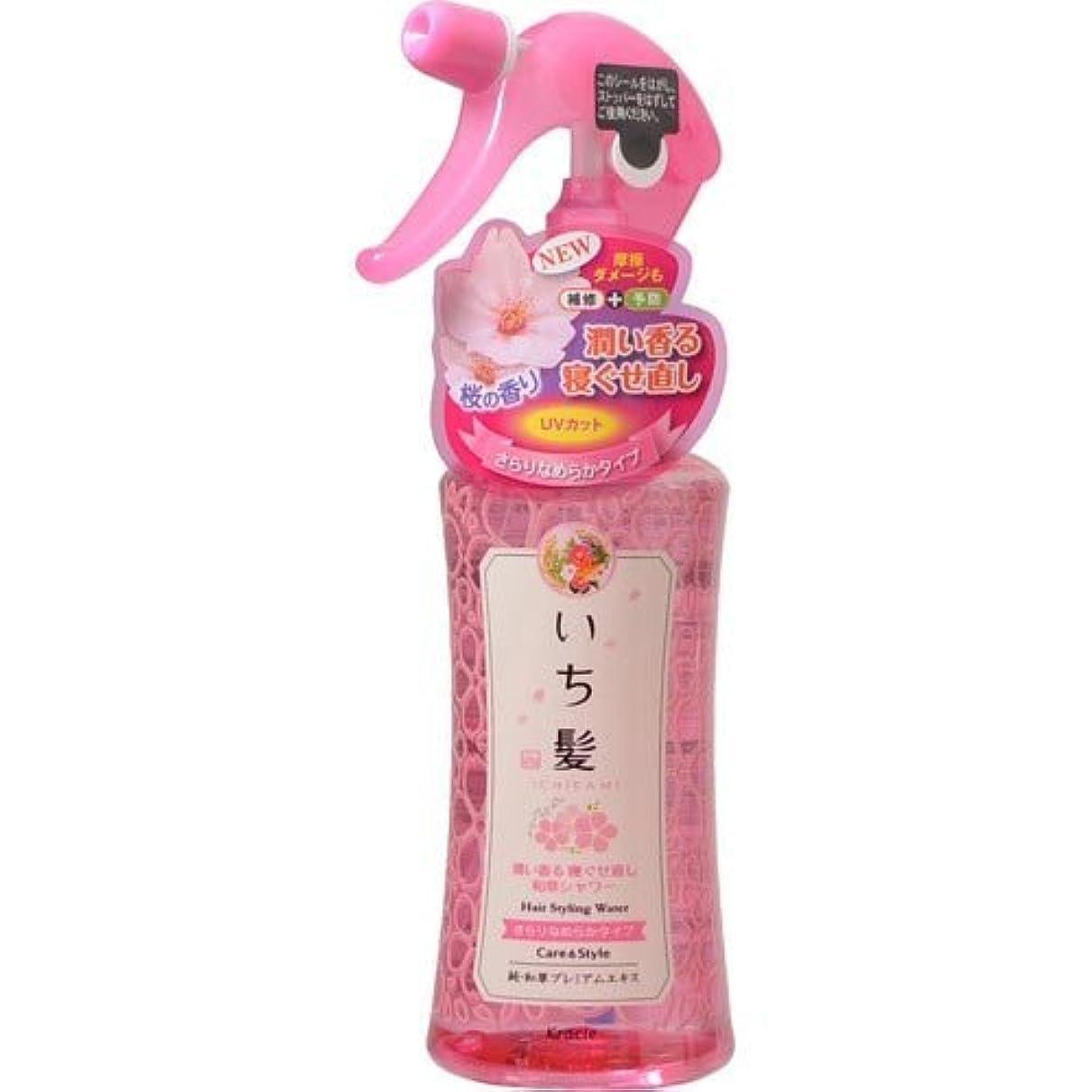 順応性香水鼻いち髪 潤い香る寝ぐせ直し和草シャワー さらりなめらかタイプ 250mL [並行輸入品]