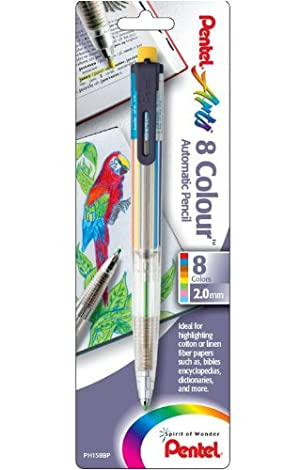 Pentel 8-Color Highlighter