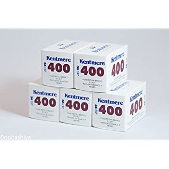 Kentmere 400 白黒フィルム 35mm 36枚撮り(5本セット)