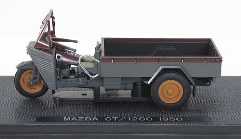 EBRRO 1/43 マツダ CT/1200 1950 幌無し グレー/ブラウ 完成品