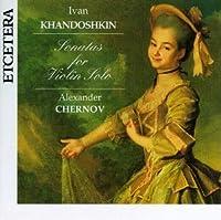 Sonatas for Violin Solo 1-3
