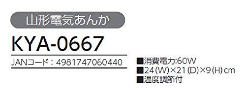 コイズミ 山形電気あんか KYA-0667