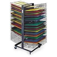Nascoジャンボバックツーバック100-shelf乾燥ラック–Arts & Crafts Materials–9708414