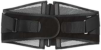 (ミズノ)MIZUNO 腰部骨盤ベルト ワイドタイプ [ユニセックス] C3JKB502 05 ブラック×グレー LL