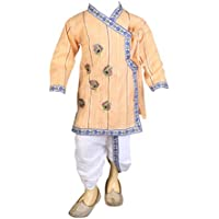 FOCIL Peacock Feather Dhoti Kurta for Kids