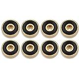 HAMILO オーディオ用インシュレーター スピーカー アンプ ハウリング防止 円形タイプ (8個セット)