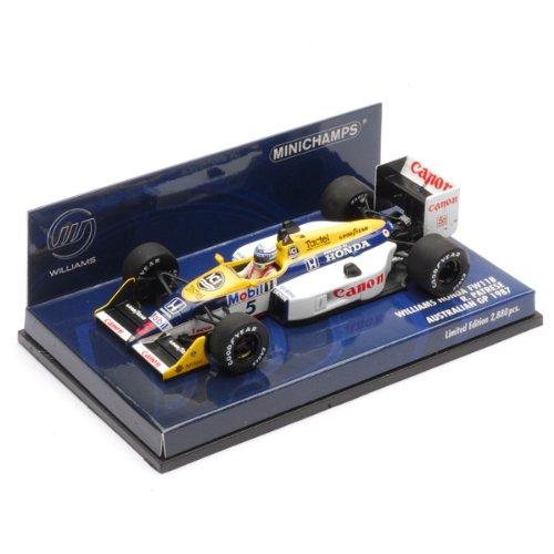 1/43 ウィリアムズ ホンダ FW11B #5 (400870095)