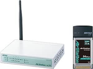 BUFFALO WYR-ALG54/P 無線BroadBandルータ カードセット