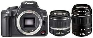 Canon EOS KISS デジタル N ブラック Wズームキット 0208A004