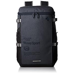 [デサント] リュックサック リュック MOVE SPORTS スクエアバックパック 杢 DAC-8724 NVYM NVYM
