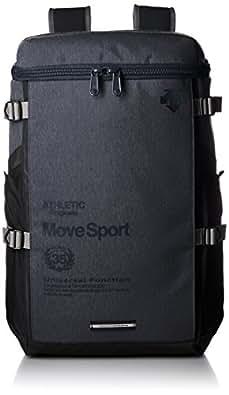 [デサント] リュック Move Sports スクエアバックパック 杢 DAC-8724 NVYM