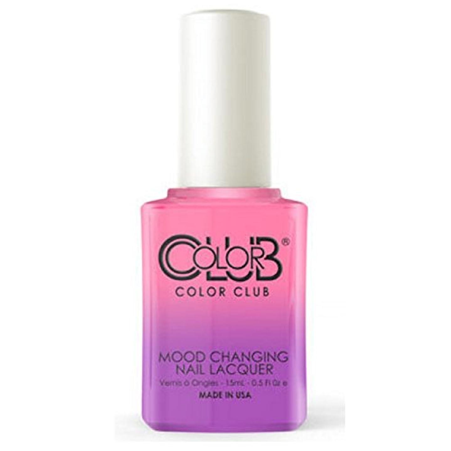 鳴り響く乳剤リールColor Club Mood Changing Nail Lacquer - Feelin' Myself - 15 mL / 0.5 fl oz