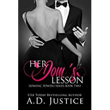 Her Dom's Lesson (Dominic Powers Book 2)
