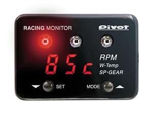 ピボット(PIVOT) レーシングモニター 赤表示 RM-07R
