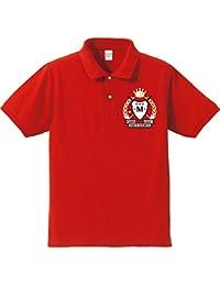 【名入れオリジナルポロシャツ、スポーツ】還暦祝い赤いポロ 還暦ハッピーゴルフウェア(ワンポイント)(プレゼントラッピング付)クリエイティ