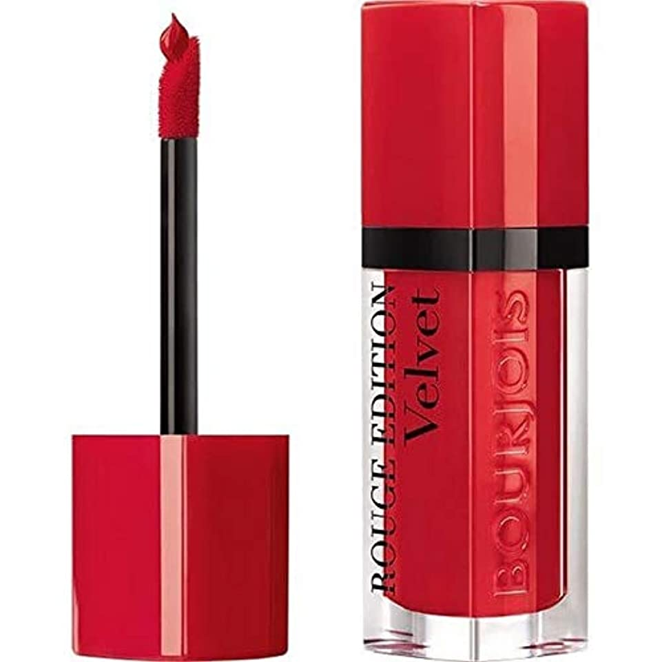 陪審ディレクターボリューム[Bourjois ] ブルジョワルージュ版のベルベットの口紅唐辛子3 - Bourjois Rouge Edition Velvet lipstick Hot Pepper 3 [並行輸入品]