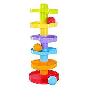 Wishtime コロコロ おもちゃ ボール落とし 玉ころがし 1歳から 幼児 赤ちゃん 子供 知育玩具【誕生日プレゼント 出産祝い】