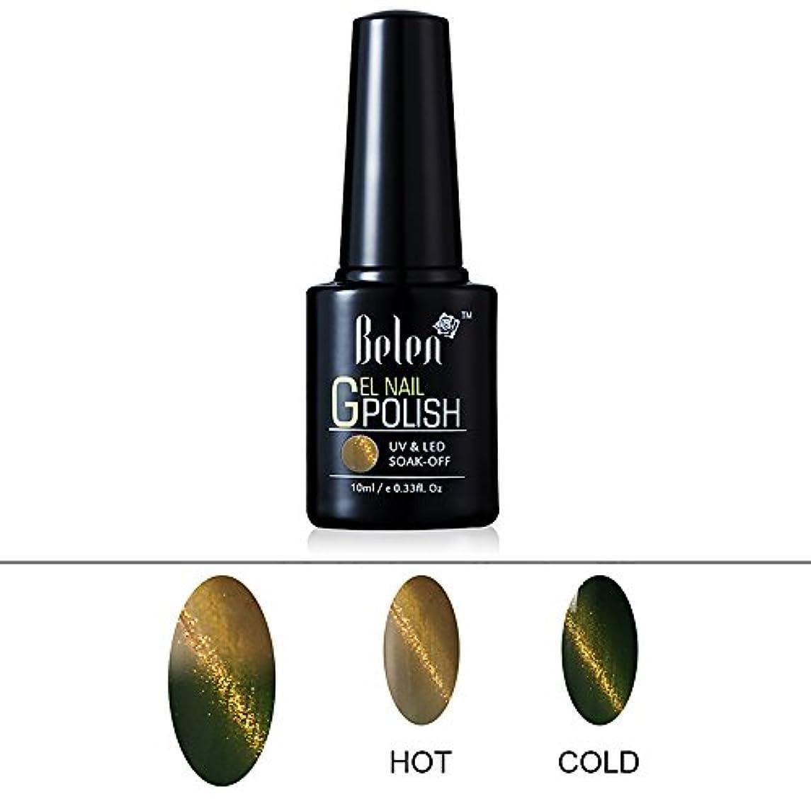 免除植物のためにジェルネイル カラージェル カメレオンジェル+猫目ジェル 温度により変色 模様を作れる 1色入り 10ml 【全28色選択可】