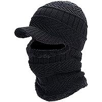 フェイスマスク ニット帽 ネックウォーマー フェイスカバー 目出し帽 防寒 防風 防塵 多機能 自転車用マスク フリサイズ
