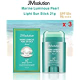 JM Solution ★1+1+1★ Marine Luminous Pearl Light Sun Stick 21g (spf50 PA)/マリンルミナスパールライトサンスティック21g