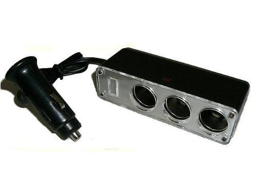 24V→12V変換ソケット トラック用シガーライター/DCDCコンバーター