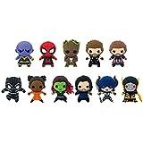 Marvel(マーベル) Avengers: Infinity War(アベンジャーズ/インフィニティ?ウォー) 3Dフィギュラル?キーリング(コレクターキーリング) SERIES 2 ブラインド仕様 1パック単品販売 [並行輸入品]