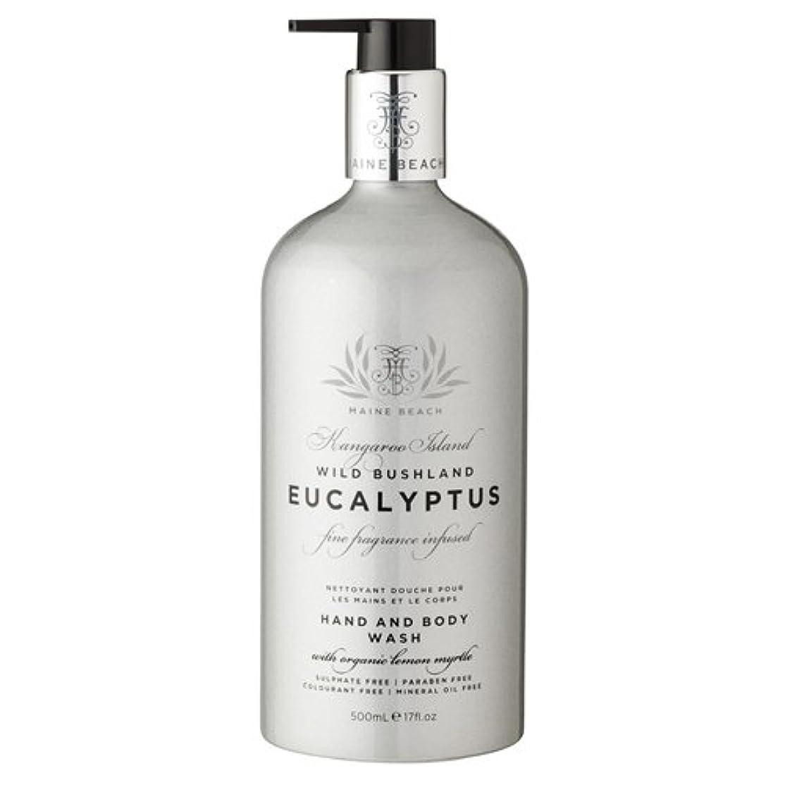 プレビュー連邦ポーンMAINE BEACH マインビーチ Eucalyptus Series ユーカリオイル ハンド&ボディウォッシュ