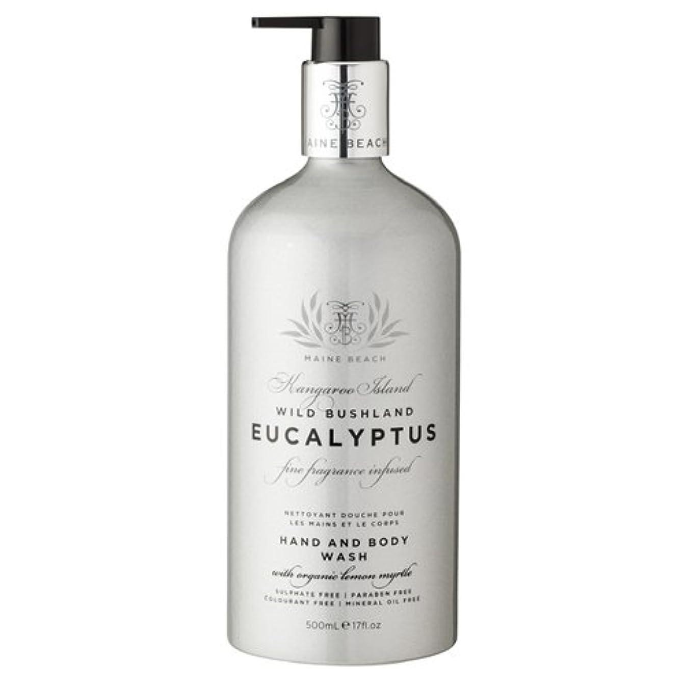 に賛成著者顕微鏡MAINE BEACH マインビーチ Eucalyptus Series ユーカリオイル ハンド&ボディウォッシュ