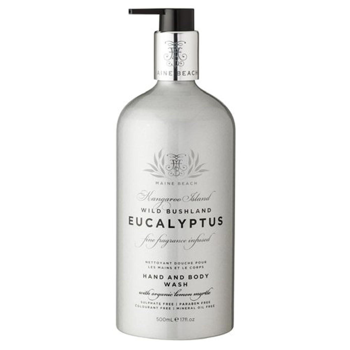 常識血まみれの害虫MAINE BEACH マインビーチ Eucalyptus Series ユーカリオイル ハンド&ボディウォッシュ